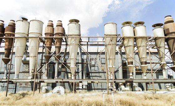 Silo, Grain, Texas, Southwest, Tower, Industrial