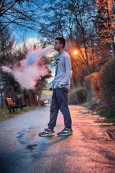 Man, Boy, Vape, Ecigarette, Vaping, Smoking, Ecig