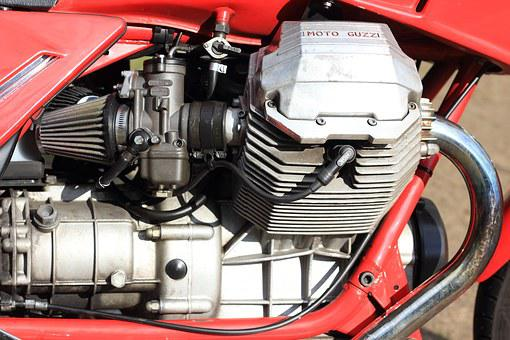 Netherlands, Woerden, Motorcycle, Engine, Moto, Guzzi
