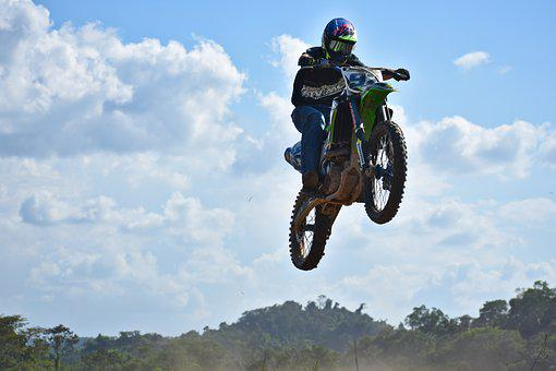 Bike, Wheel, Hurry, Sport, Motocross, Dirt Bike, Ramp
