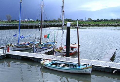 Body Of Water, Pier, Mar, Boat