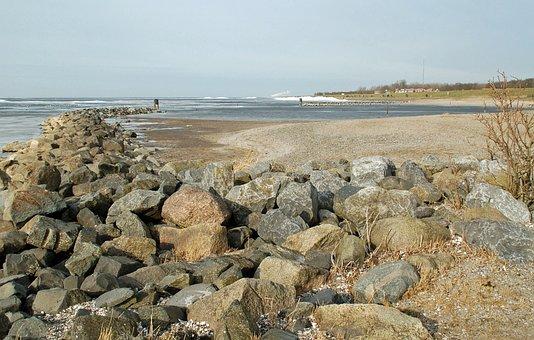 Sea, Coast, Body Of Water, Nature, Landscape, Winter