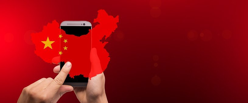 China, Land, Smartphone, Search, Information