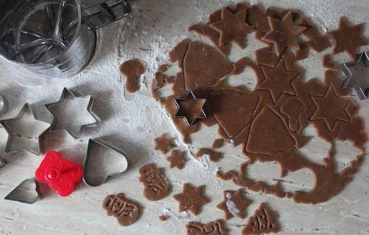 Eating, Cookies, Gingerbreads, Christmas, Holidays