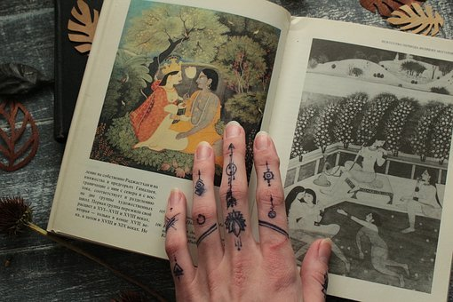 People, Art, India, Jagua Gel, Jagua, Illustration