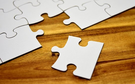 Puzzle, Joining Together, Insert, Share, Match