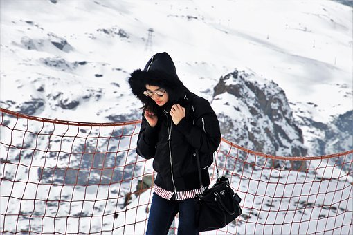 Winter, Snow, Cold, Sport, Ice, Lifestyle, Girl