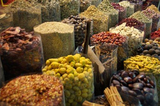 Market, Food, Dubai, Dubai Creek