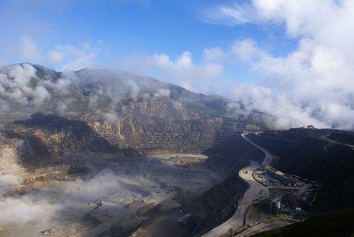 Sky, Panoramic, Remote, Industry, Mine