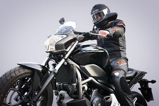 Motorcycle, Pocket Bike, Motorcyclist, Helm, Vehicle