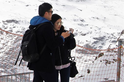 The Alps, Total, Para, Zermatt, Snow, Winter, Cold, Ice