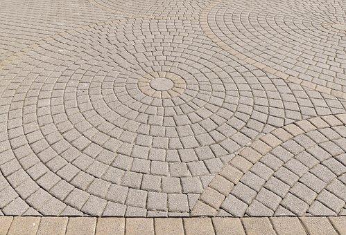 Patch, Paving Stones, Circle, About, Composite Stones