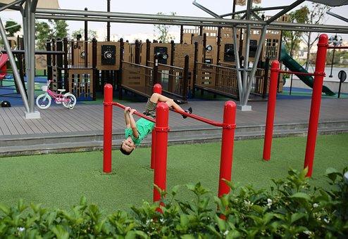 Playground, Equipment, Outdoors, Industry, Summer