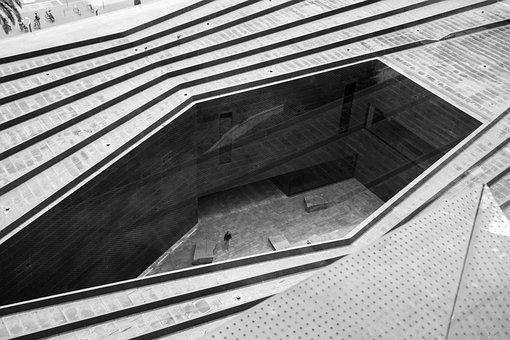 Architecture, Roof, Steel, City, Modern, Window