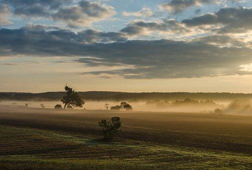 East Słonca, Landscape, Sky