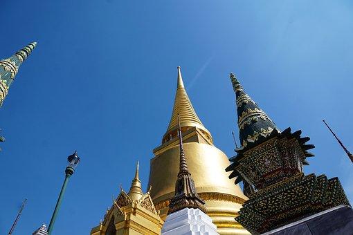 Buddha, Temple, Wat, Religion, Pagoda, Architecture