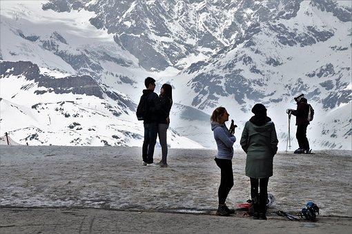 Para, The Alps, Zermatt, Snow, Ice, Winter, Mountain