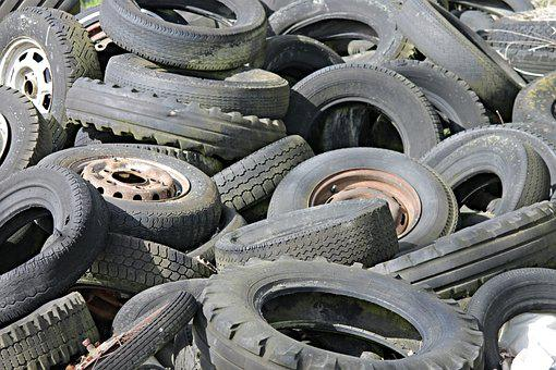 Mature, Auto Tires, Altreifen, Disposal, Scrap, Wheels