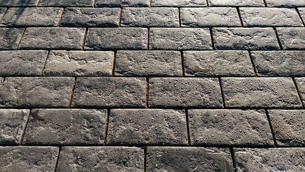 Stone, Template, Background, Brick, Uneven, Concrete