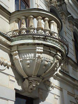 A Balcony, History, Building, Old Town, Slovakia, Old