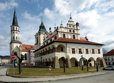 City ​​hall, Building, Slovakia, Architecture, Square