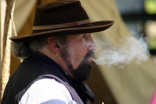 Lid, Cowboy, Man, People, Festival, Portrait, Adult