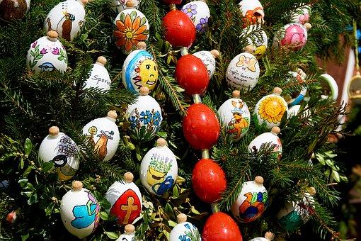 Easter Well, Holy City, Easter Eggs, Custom