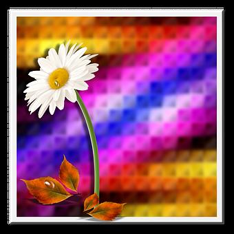 Background, Flower, Leaves, Flowers, Reason, Design
