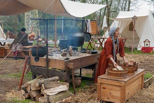 Festival, Medieval, Medieval Door, Costume, Dragon