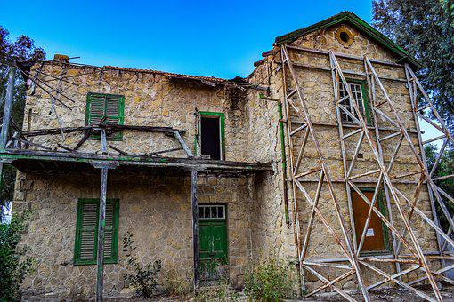 Architecture, Building, House, Abandoned, Old, Exterior