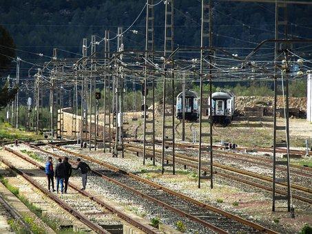 Train, Industry, Railway Line, To Train, Railway, Steel