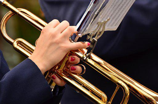 Trumpet, Jazz, Instrument, Marching, Music, Orchestra