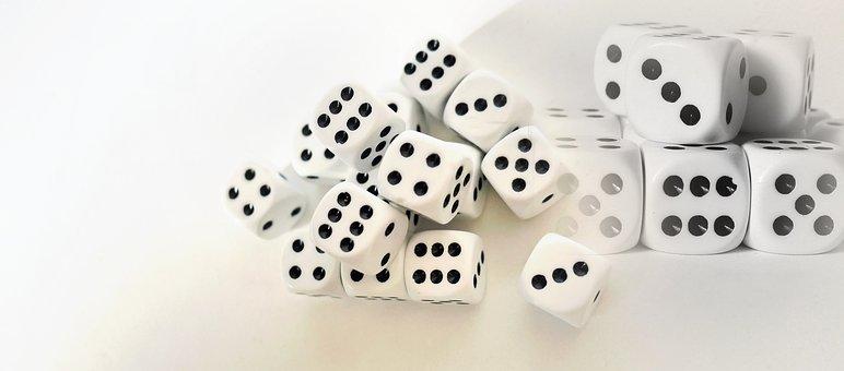 Gambling, Gamble, Cube, Play, Casino, Risk, Luck
