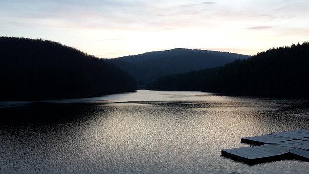 Valiug, Lake, Romania, Water