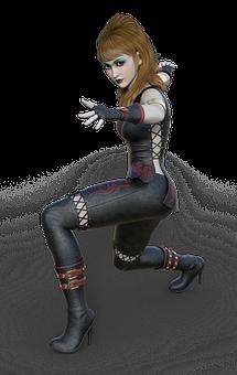 Woman, Self-defense, Fight, Sport, Fantasy