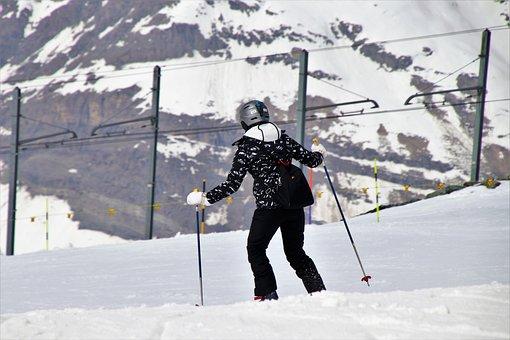Stok, Pull Station, Gornergrat, Skier, Snow, Winter