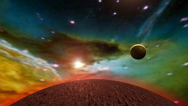 Astronomy, Moon, Space, Galaxy, Planet, Universe