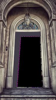 Door, Flame, Frame, Retro, Front Door, The Entrance