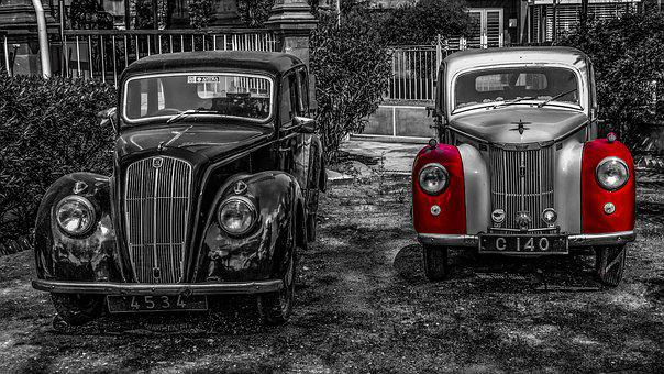 Car, Vehicle, Transportation System, Classic, Nostalgia