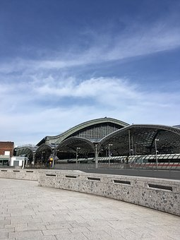 Sky, Travel, Architecture, Railway Station, Cologne