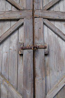 Wood, Woods, Old, Wall, Expression, Door, Background