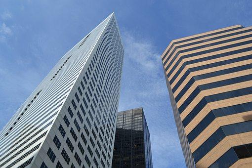 Skyscraper, Architecture, Tallest, Office, City