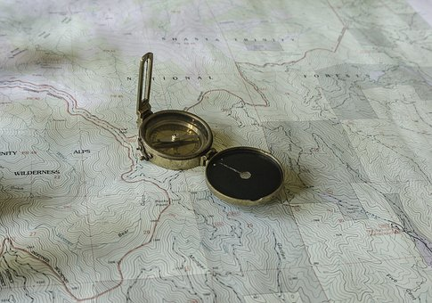 Map, Topo Map, Topographic, Usgs, Compass