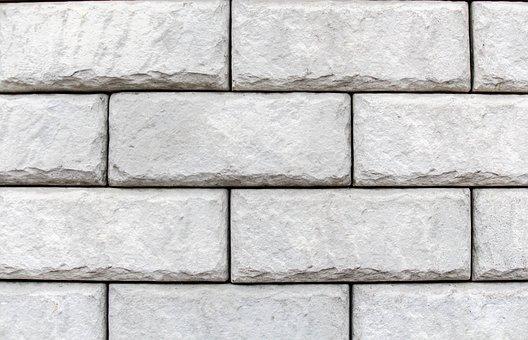 Brick, Wall, Stone, Cement, Cube