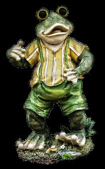 Frog, Figure, Ceramic, Sculpture, Ceramic Figures, Deco