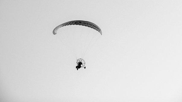 Flight, Sky, Fly, Parachute, Nature, Paragliding, Sport