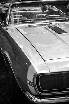 Car, Vehicle, Transportation System, Chrome, Headlight