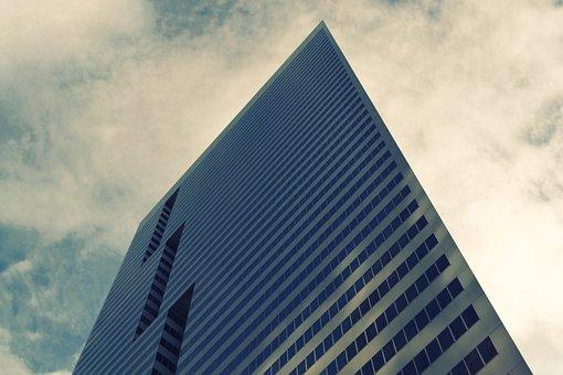 Building, Business, Houston, Texas, Windows