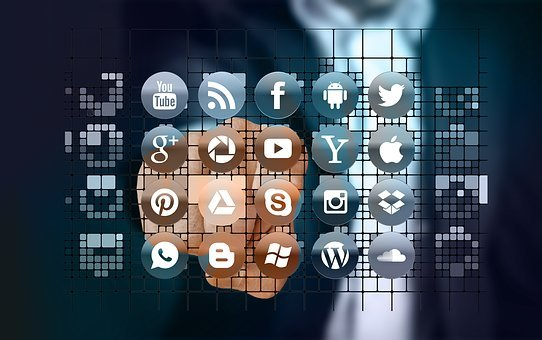App, Networks, Internet, Man, Touch, Touch Screen