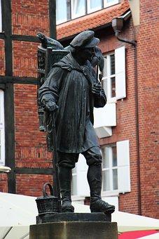 Human, City, Landmark, Kiepenkerl, Münster, Statue